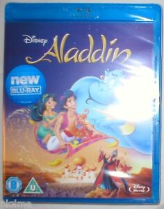 USA SELLER!!   ALADDIN -- BRAND NEW SEALED BLU-RAY WALT DISNEY MOVIE Region-Free