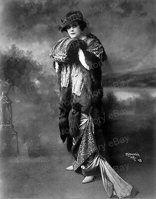 8x10 Print Theda Bara Beautiful Fashion Portrait 1918 by Mishkin New York #TB91