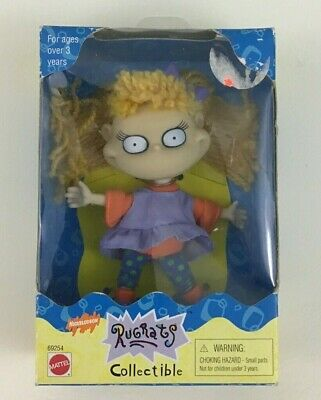 "Rugrats Collectible Angelica Toy 5"" Doll Vintage 1998 Viacom Mattel Vintage New"