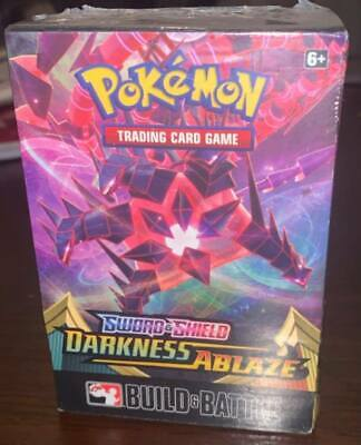 Pokemon Darkness Ablaze Prerelease Build and Battle Box NEW SEALED