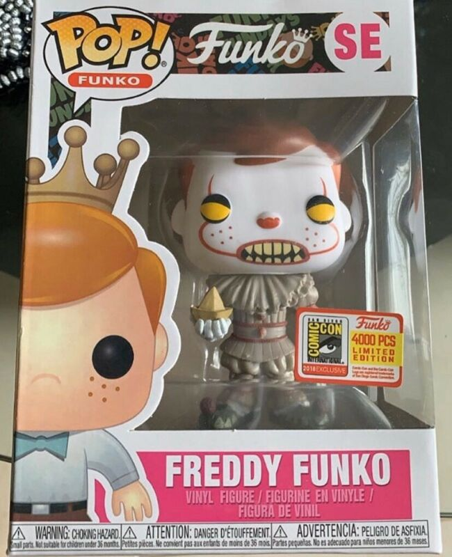 FREE POP PROTECTOR FUNKO POP VINYL IT 2017 PENNYWISE W SEVERED ARM EXCLUSIVE