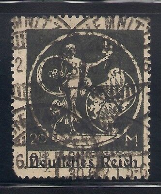 Germany  1920  Sc  275 20M   Used   42728