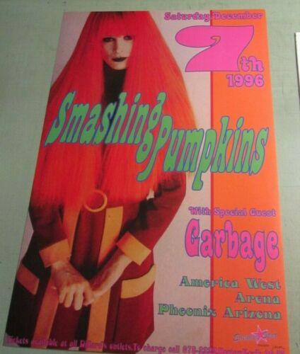Smashing Pumpkins 1996 Arizona Concert Original Poster Signed Kozik And Numbered