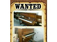 UPRIGHT PIANO WANTED (LEICESTERSHIRE/MIDLANDS AREA)