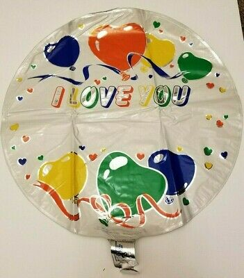 I Love You Helium Balloons (I Love You Write Name on Balloon MYLAR BALLOON | Helium Balloon Lot Bulk 70)