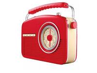 Red Goodmans 4 band radio
