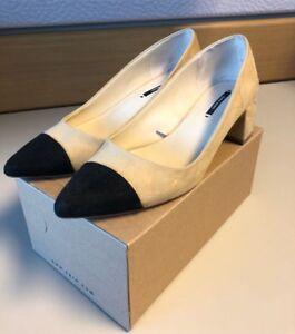 Zara heeled flats