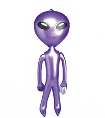 Blow Up Toys (Purple Space Alien 24'' Inflatable Blow Up Prop UFO Child Play)
