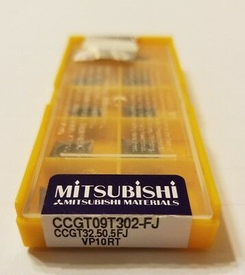Ccgt32.50.5fj Vp10rt - Mitsubishi - 10 Pack - New - Usa Stock - Ccgt09t302-fj