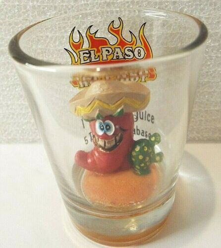 El Paso Hot Shot Glass 1 Part Tequila 1 Part Ume Juice 5 Dashes of Tabasco