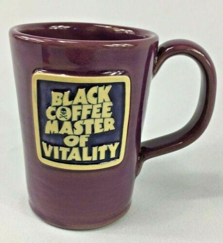 Death Wish Coffee Black Coffee Master Of Vitality Mug Deneen BLACK SABBATH New