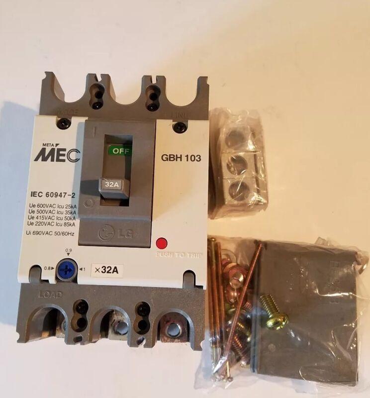 AEG EE Controls GBH103-32A-42KA circuit breaker 25 - 32 Amp LG Molded Case