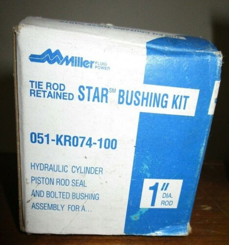 MILLER FLUID POWER 051-KR074-100 REPLACEMENT SEAL KIT NEW OLD STOCK