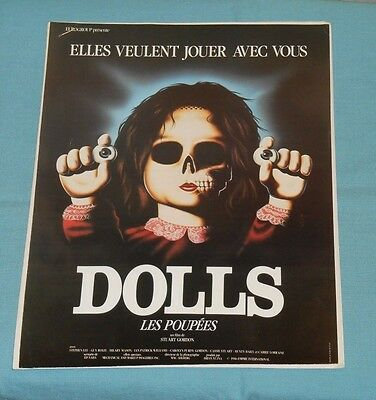 original DOLLS French promotional material pressbook advertising