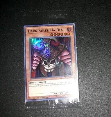 Sealed Promo Yu-Gi-Oh LART-EN010 Ultra Rare TCG: X1 Dark Ruler Ha Des
