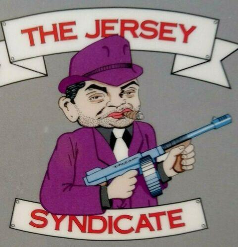 Bon Jovi New Jersey Syndicate Backstage Pass Original 1988 Gangster Machine Gun