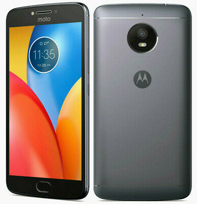 "Motorola Moto E4 Plus 16GB iRON Grey *~UNLOCKED~* 3GB RAM 5.5"" HD Smartphone"