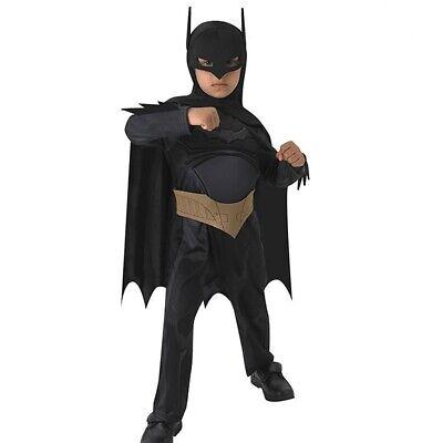Kinder Kostüm Batman Deluxe Verkleidung Größe 5-7 Jahre - Kinder Verkleiden
