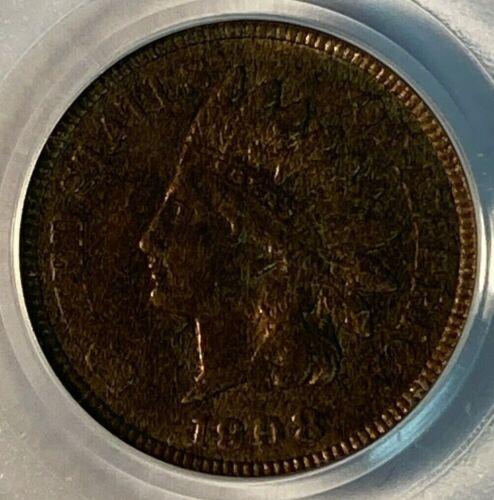 1908 PCGS MS63 RB Indian Head US Cent 1C