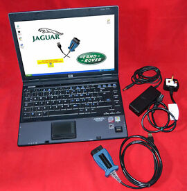 HP COMPAQ 6710b & MONGOOSE CABLE WITH JAGUAR/LANDROVER DIAGNOSTIC SOFTWARE v131.03