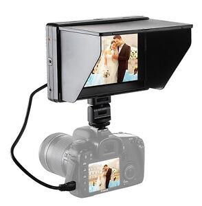 Mcoplus 7''DC-70II 1240x600 Resolution HD LCD On Camera Monitor HDMI/AV for DSLR