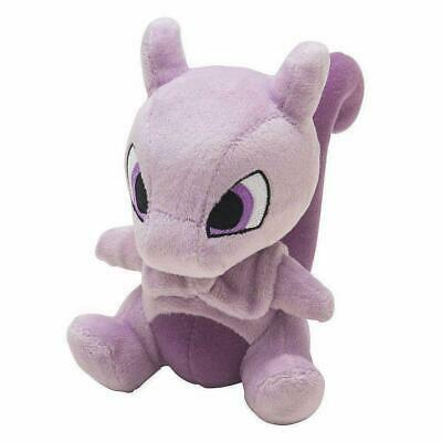 Pokemon Chibi Mewtwo Plush Doll Pruple Animal 2019 Best Xmas Gift for Kids  6 (Best Xmas Gifts For Kids)