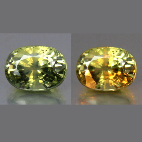 """0.96 CT """"GFCO CERTIFIED"""" WOUNDERFUL SPARKLING UN-HEATED CHRYSOBERYL ALEXANDRITE"""