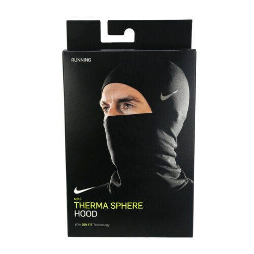 Nike AC4380-042 Therma Wrap Sphere Hood 2.0 Mask Black neck warmer