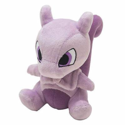 "Mewtwo 6"" Pokemon Pocket Monster Plush Toy Soft Animal Stuffed Doll High Quality"