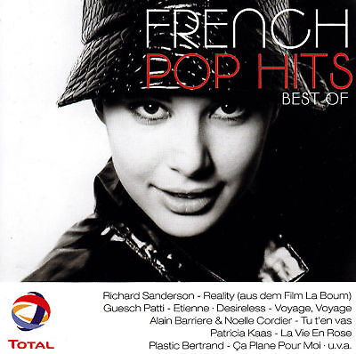FRENCH POP HITS - CD - BEST OF ( 1971 - 2000 )