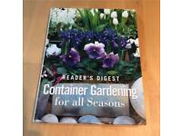 Readers Digest Container Gardening For all Seasons H/B Book
