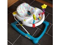 Mothercare Baby Walker with activity table / toys