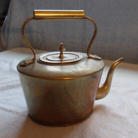 Brass Kettle - Period-style, Retro in design