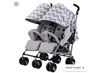 Double billie faiers pushchair