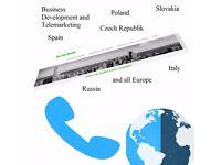 Marketing and Business Development around Europe