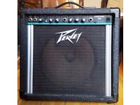 Peavey Audition 110. 25 watts guitar combo amp.