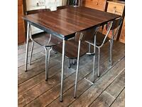 Tavo Dining Table With Five Chairs- Retro