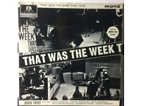 DAVID FROST That Was The Week That Was 12 inch VINYL