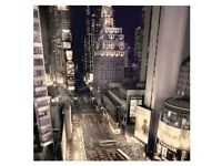 Brand New in Packaging B&Q New York Large Canvas