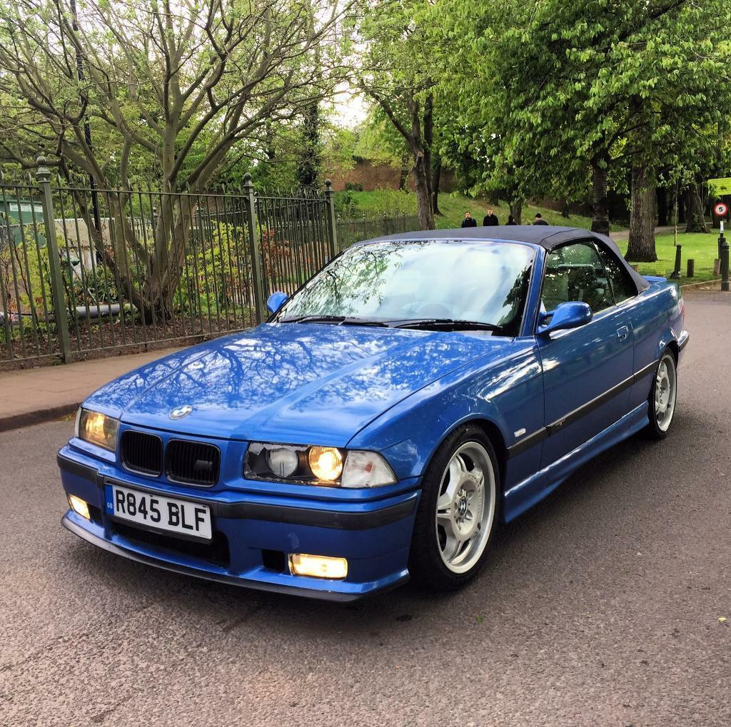 1998 Bmw 323i Convertible Full M3 Estoril Blue