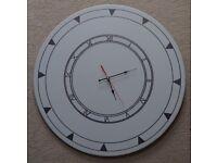 Handmade 60cm oversized clock.
