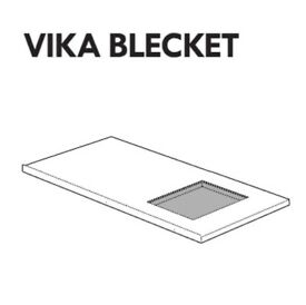 IKEA VIKA BECKET Table Top - Drawing Board/Light Table.