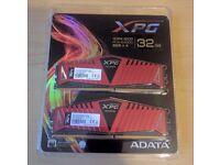 ADATA XPG 32GB (4x8GB) DDR4 RAM 3000MHz Memory Kit - BNIB