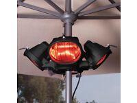 Heat master parasol heater