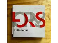 Letterforms, Typeface design from past and future | typography book