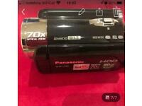 Panasonic camcorder on sale / used only few times like new