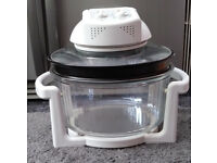 Large halogen turbo oven + lots of accessories NEW + UNUSED