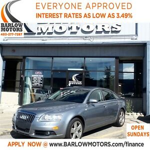 2008 Audi A6 3.2**AMVIC INSPECTION & CARPROOF PROVIDED!