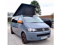 63 Plate Volkswagen VW LWB Transporter 102 ps Pop top Conversion Camper Campervan