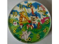 1988 - Coco Pops Wall Clock / comes with a brand new free battery for the clock